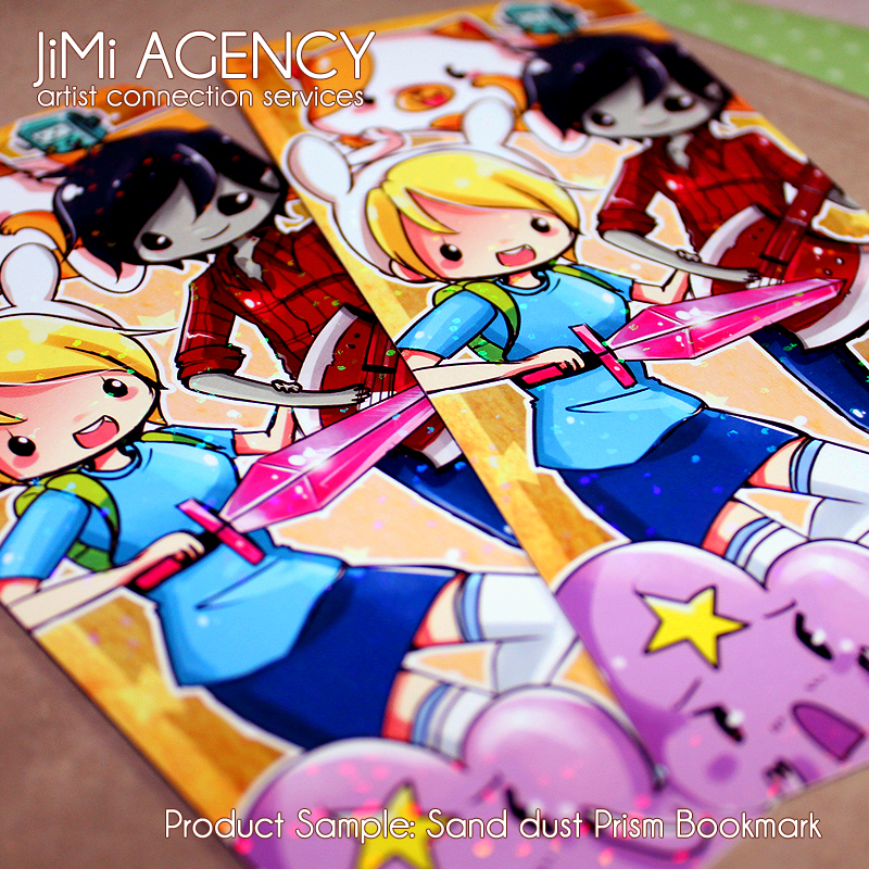 jimi product sample prism bookmarks sand dust by jinyjin
