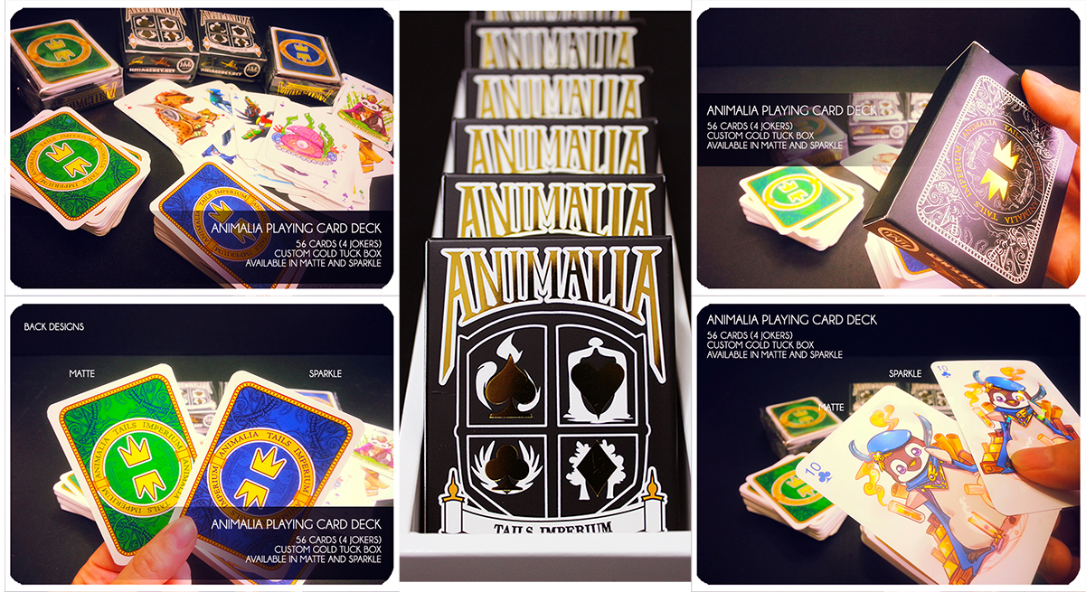Animalia Tails Imperium Playing Card Deck by jinyjin