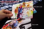 Prussia themed double sided postcard by jinyjin