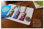 Luggage Dog tags (Link/teemo/Slaine) by jinyjin