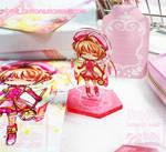 Sakura acrylic stand by jinyjin