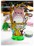 The Ghibli Tree acrylic stand by jinyjin