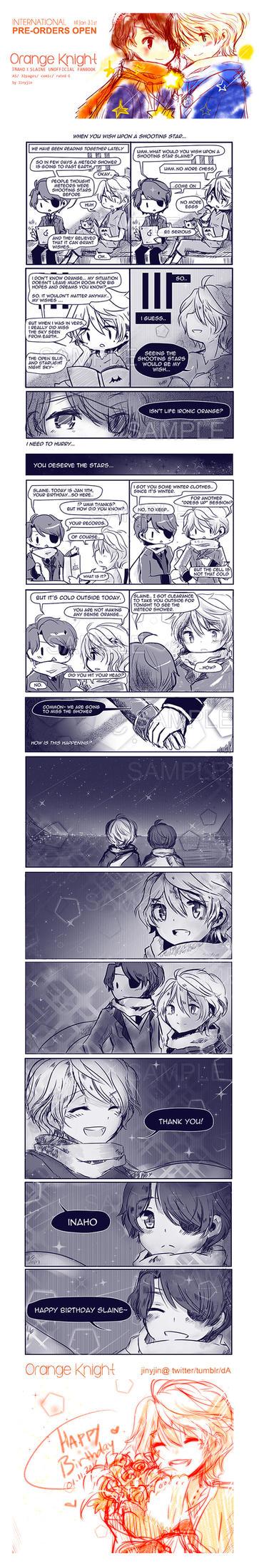 Orange Knight + Birthday Chapter part 1 by jinyjin
