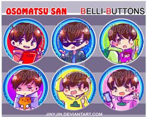 Osomatsu San Buttons