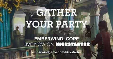 NEW table Top RPG Kickstarter by jinyjin