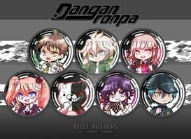 Danganronpa button set (7)