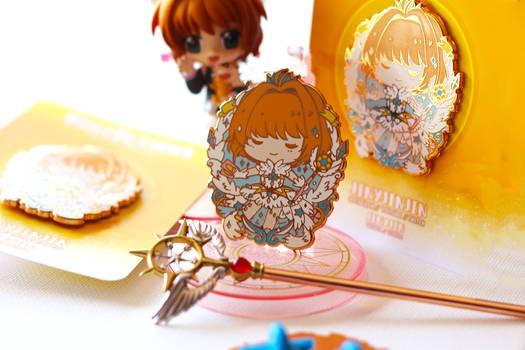 Sakura Enamel pin