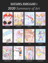 Summary of art 2020 (SFW)