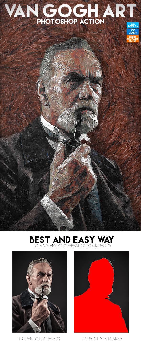 Van Gogh Art Photoshop Action by PowerPGGirl on DeviantArt