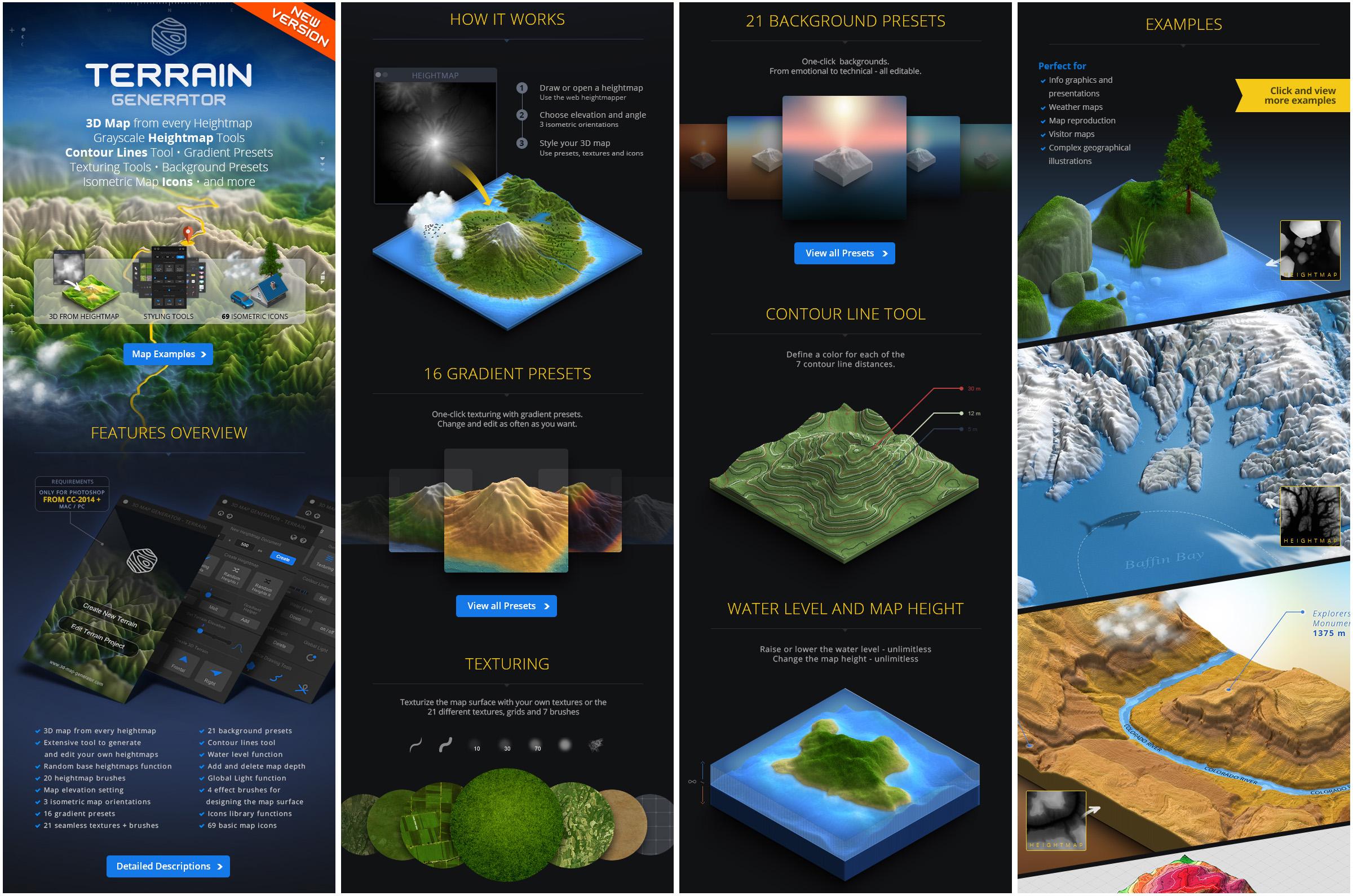 3d map generator terrain free download