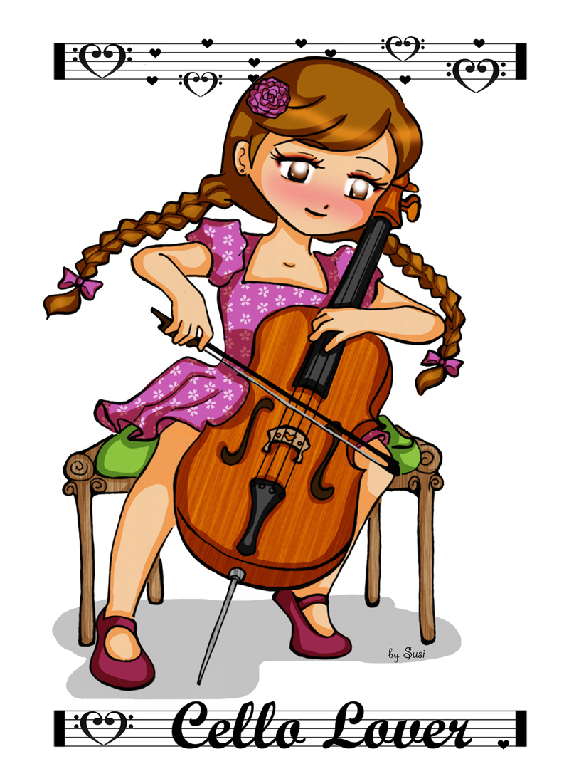 Cello Lover by SusiKISS