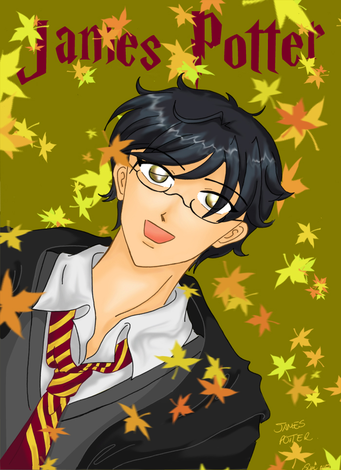 HP - James Prongs Potter by SusiKISS