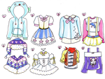 Outfit Adopts Set - 10pts - OPEN