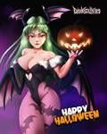 Morrigan Aensland Fanart [Happy Halloween]