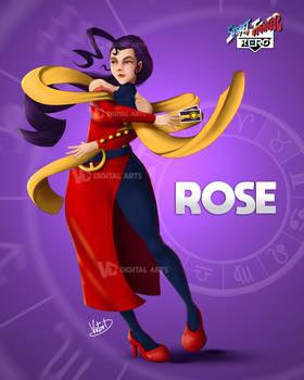 SFZP08 : Rose Fan Art