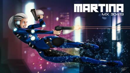OC : Martina MX30419 (Full BG version)