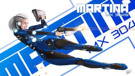 OC : Martina MX30419 (Graphic version)