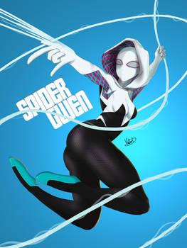 Spider Gwen Masked Fan Art