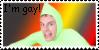 Idubbbz I'm gay stamp by ArdianACET