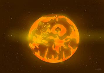 Planet Firestar by ArdianACET