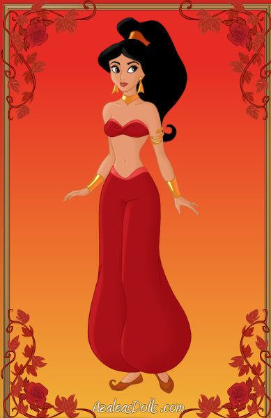Princess Jasmine Red Outfit By Scooterbug1998 On Deviantart