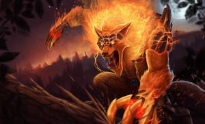 Firefang Warwick by dominaART