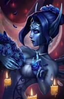 Ghost bride Morgana by dominaART