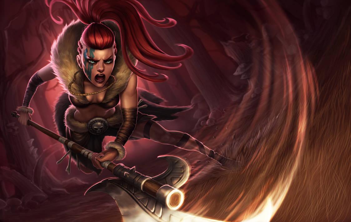 Darkest Dungeon: Hellion by dominaART