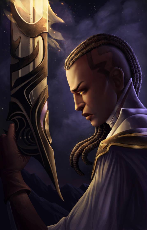 Lucian: the Purifier by dominaART
