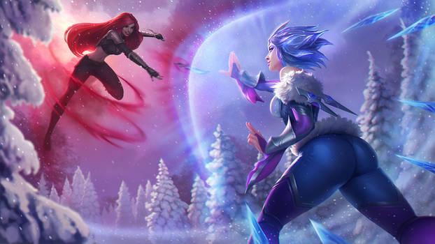 Frostblade Irelia vs Katarina