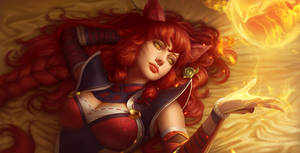 Fox Fire Ahri
