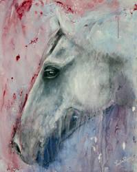 Rain Horse by Lydia888