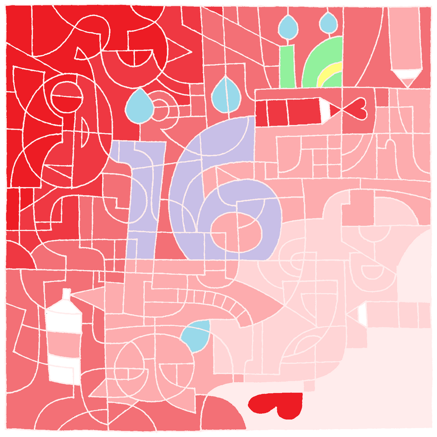 DeviantArt 16th birthday! by cioccolatina2000