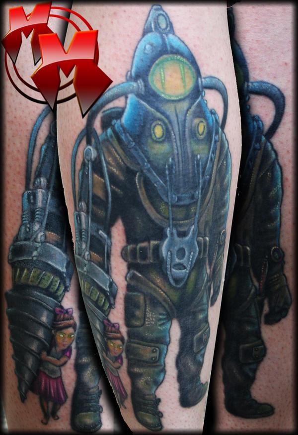 Pin bioshock jack chain tattoo by infernobat3330jpg the on for Bioshock wrist tattoo