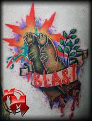 Finger Blast by MattieMacabre