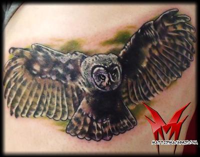 owl by MattieMacabre