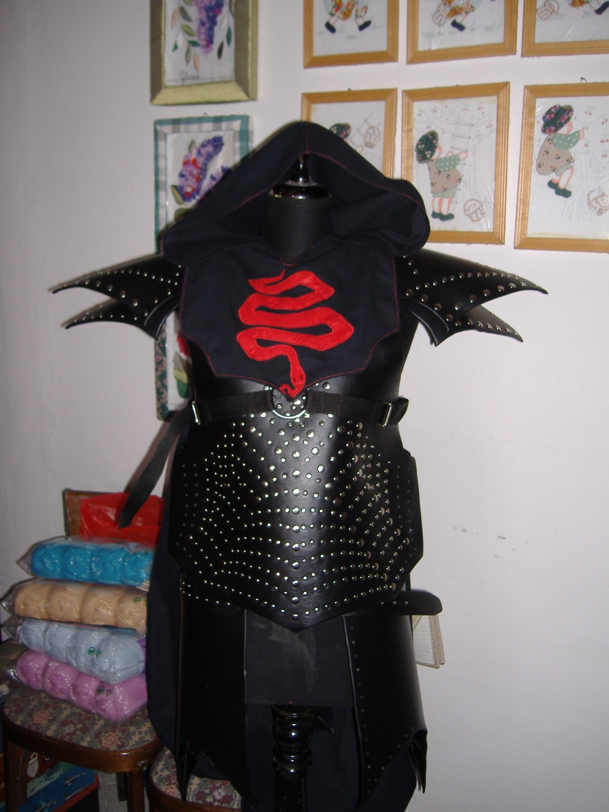 DarkElf Studded Leather Armour by Nightjar666 on DeviantArt