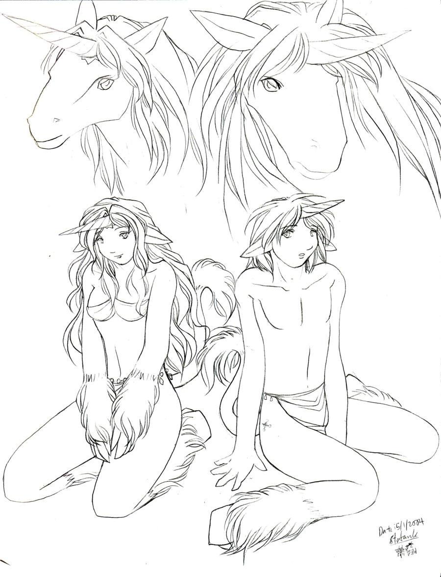 M and M the unicorns by Kriska