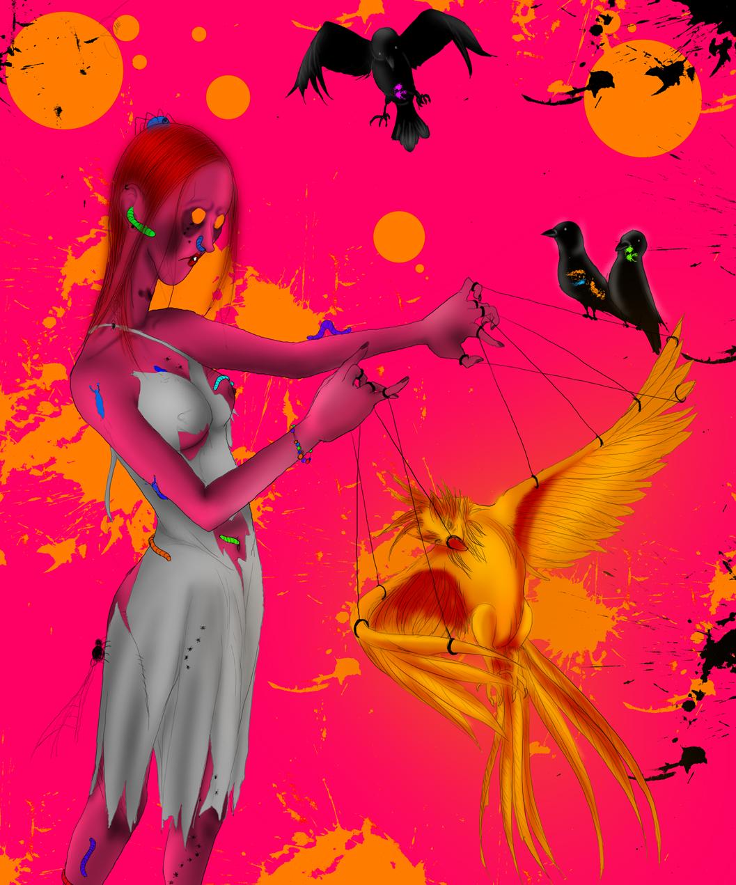 Phoenix Zombie by Marina-Shads