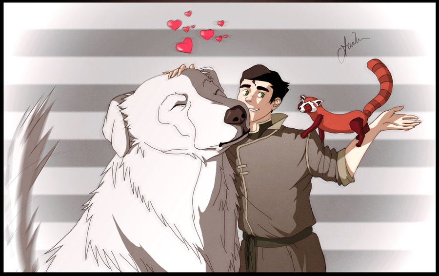 Naga Loves You, Bolin by Marina-Shads