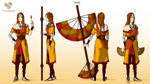 Inie -Avatar character concept design-