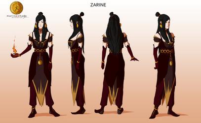 Zarine -Avatar character concept design- by Marina-Shads