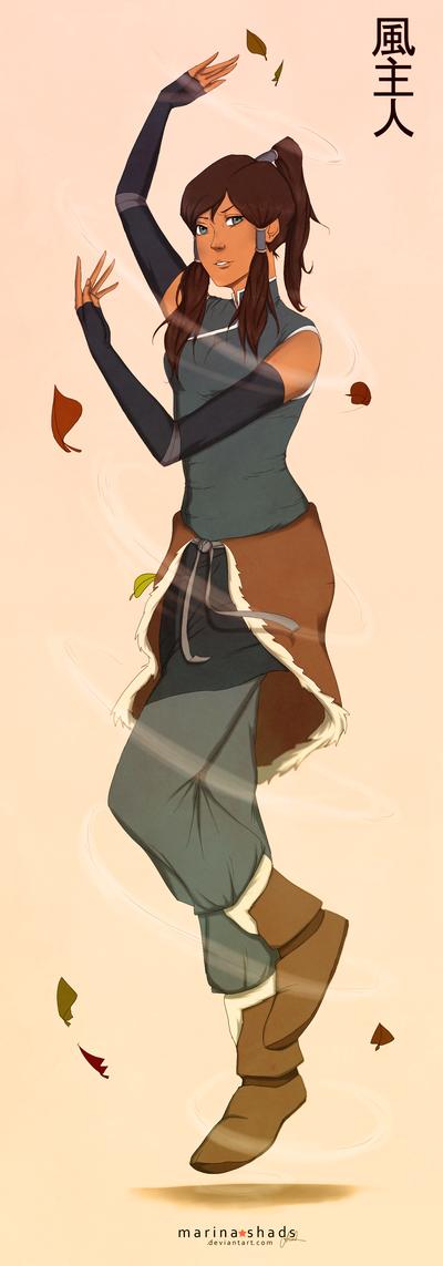 Leafy Korra by Marina-Shads