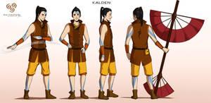 Commission: Kalden - Character Concept Design