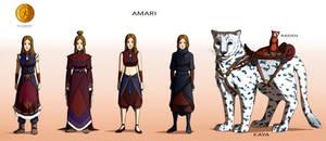 Commission: Amari - Character Concept Design