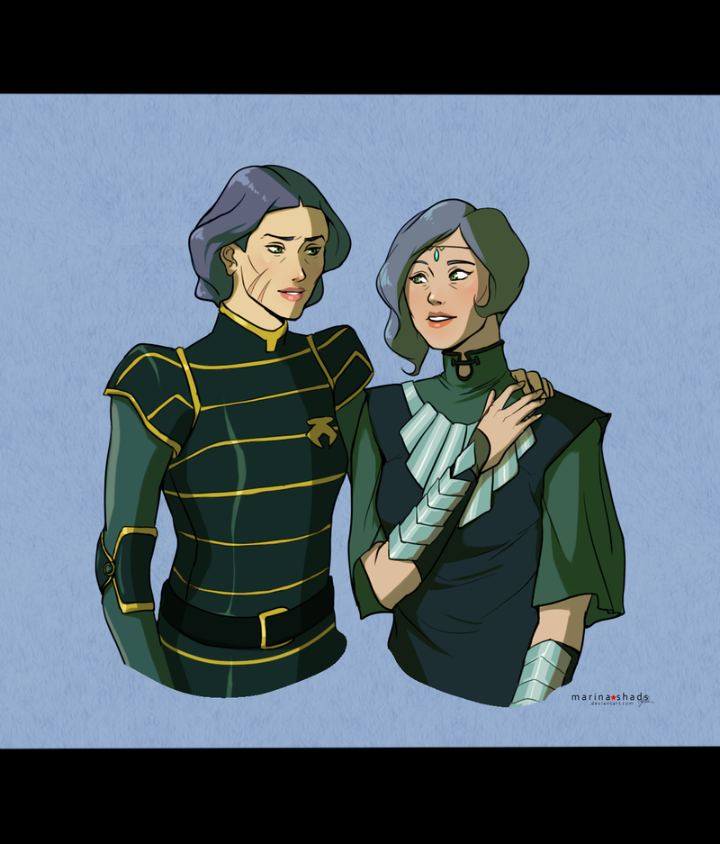 Lin and Suyin by Marina-Shads
