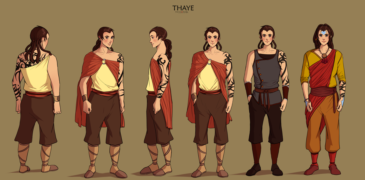 Commission: Thaye (CCD) by Marina-Shads