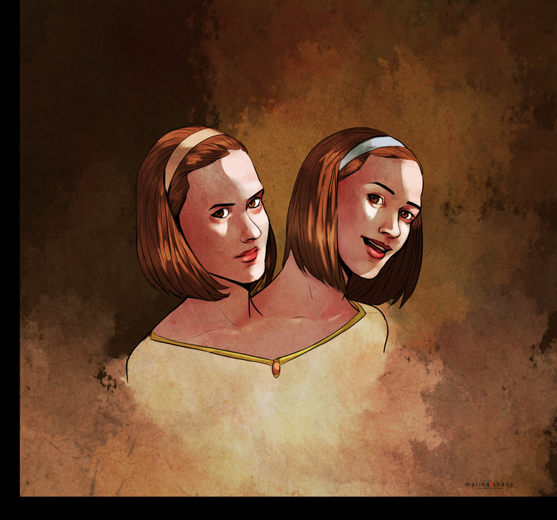 Dot and Bette by Marina-Shads