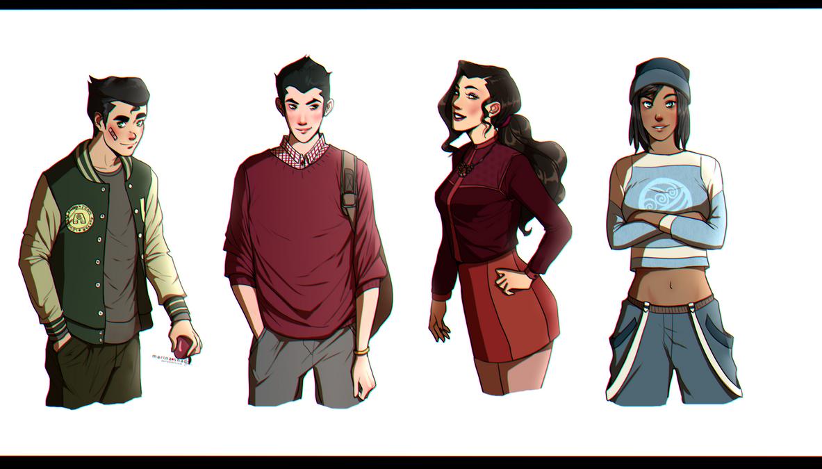 Team Avatar by Marina-Shads