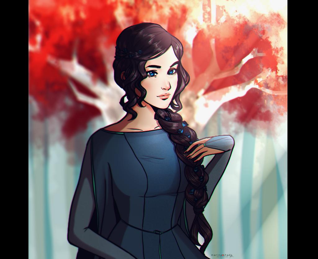 Lyanna Stark by Marina-Shads
